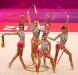 Сборная России по художественной гимнастике - олимпийские чемпионы 2012 года