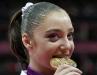 Алия Мустафина - спортивная гимнастика, упражнение на брусьях