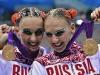 Наталья Ищенко и Светлана Ромашина - синхронное плавание