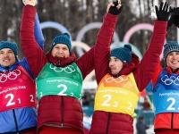 Сборная российских лыжников