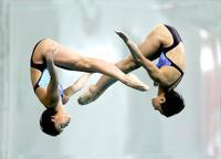 синхронные прыжки с вышки