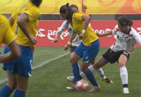 Футбол. Женщины. Пекин-2008.