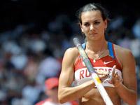 Новый рекорд Исинбаевой