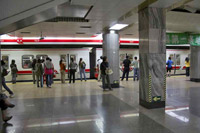 Пекинское метро. Олимпиада 2008.