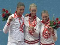 Дементьева, Сафина, Звонарева - Пекин 2008