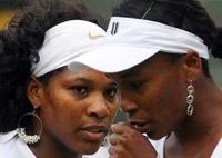 Серена и Венус Уильямс - Пекин 2008