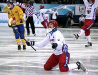 Хоккей с мячом - Россия-Швеция