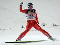 Прыжки на лыжах с трамплина - Дмитрий Васильев