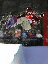 Сноубординг на Олимпийских играх