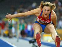 Анна Пятых - тройной прыжок