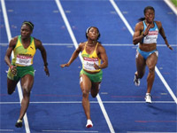 Шелли-Энн Фрэзер - Чемпионат мира по легкой атлетике 2009