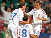 Футбол. Отборочный турнир чемпионата мира 2010. Россия - Уэльс 3:1