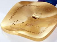 Паралимпийская медаль Ванкувер-2010