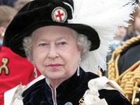 Королева Англии посетила олимпийское строительство