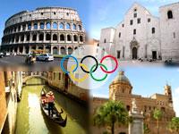 Рим, Венеция Палермо, Бари - Олимпийские игры 2020 года