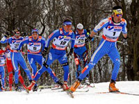 Лыжные гонки 2009/2010 - эстафета