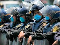 Полиция в масках