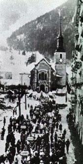 Шамони 1924 год - фотография