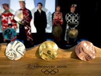 Медали Ванкувер-2010