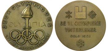 Медали Олимпийских игр в Осло 1952 года