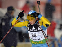 Сергей Седнев - биатлон