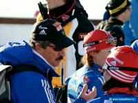 Главный тренер женской сборной по биатлону