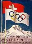 Олимпийские игры Санкт-Мориц-1928 - эмблема