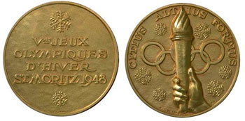 Медаль Санкт-Мориц-1948