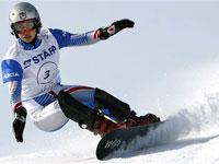 Светлана Болдыкова - сноуборд