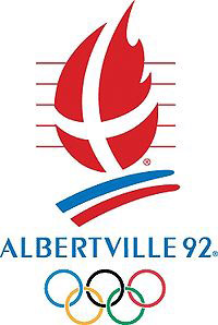 Эмблема Зимних Олимпийских игр 1992 года в Альбервиле
