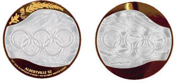 Медаль Зимних Олимпийских игр 1992 года в Альбервиле