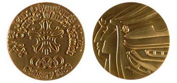 Медаль Зимних Олимпийских игр 1988 года в Калгари