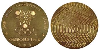 Медали - Гренобль-1968