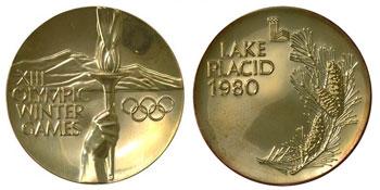 Медали Зимних Олимпийских игр 1980 года в Лейк-Плэсиде