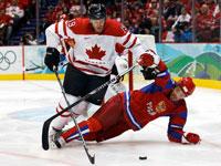 Олимпийские игры 2010. Хоккей. Канада - Россия 7:3