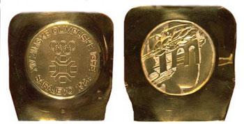 Медаль Олимпийских игр в Сараево-1984