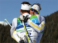 Шведские лыжники