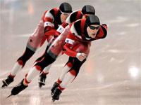 Сборная Канады - конькобежный спорт