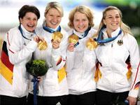 Женская сборная команда Германии - конькобежный спорт