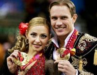 Навка и Костомаров на Зимних Олимпийских игр в Турине 2006 года