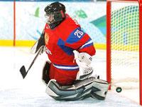 Вратарь женской сборной России по хоккею