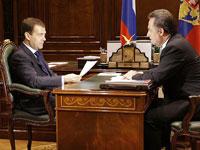 Медведев с Мутко