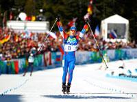 Евгений Устюгов - лучший биатлонист сезона 2009/2010