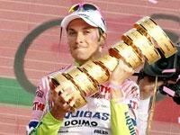Иван Бассо - победитель Джиро Д`Италия 2010