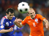 Арьен Роббен - сборная Голландии