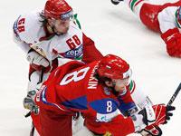 Чемпионат мира по хоккею 2010. Россия — Белоруссия