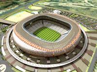 Соккер-сити - главный стадион ЧМ-2010 по футболу