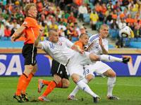 Голландия - Словакия 2:1. Чемпионат мира 2010 года по футболу.
