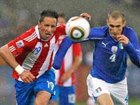 Италия - Парагвай. Чемпионат мира 2010.