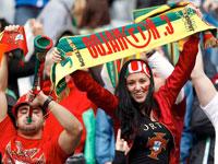 Болельщики сборной Испании по футболу